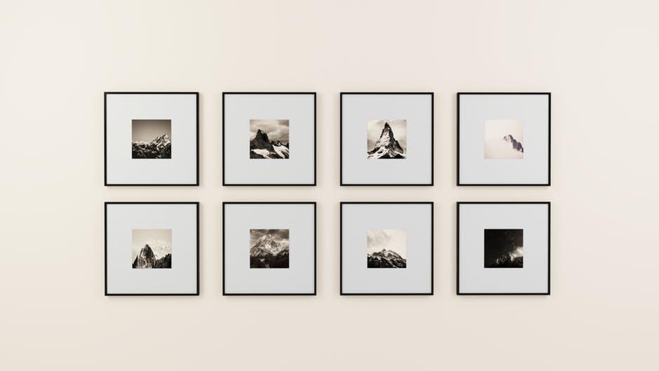 nowoczesna rama do obrazów